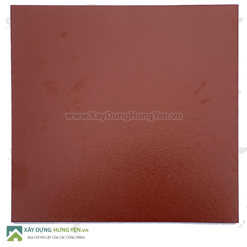 Gạch cotto 400x400 đỏ tráng men Viglacera Hạ Long