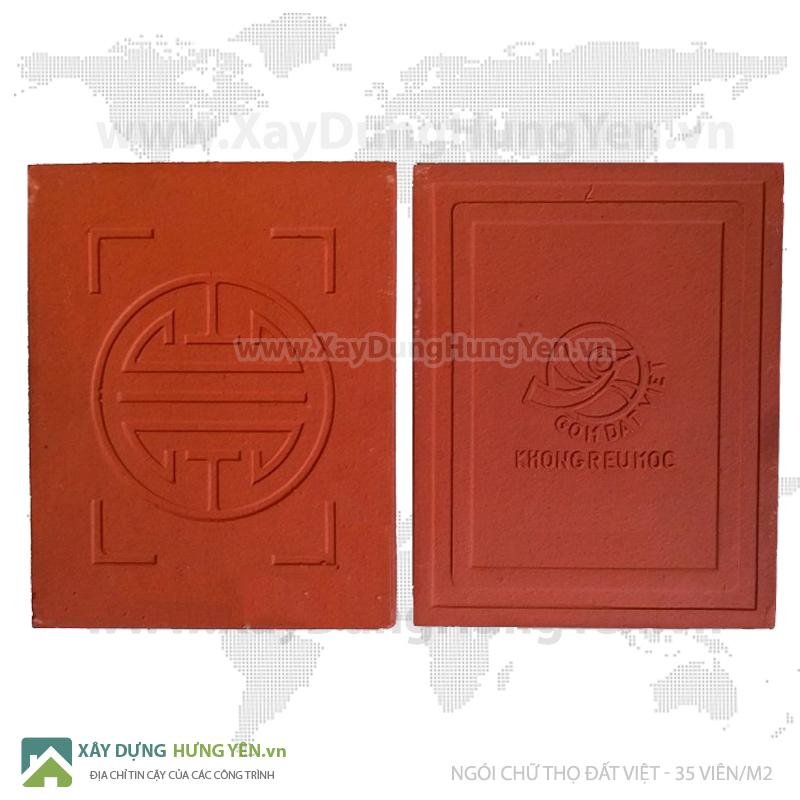 Ngói màn - ngói chiếu chữ thọ Gốm Đất Việt