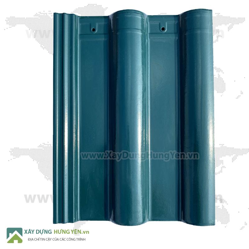Ngói tráng men xanh ngọc  Viglacera Thăng Long S18